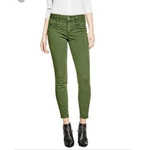 Guess Military Green Athletic Skinny Jeggings